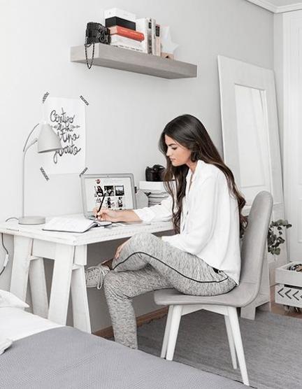 El dormitorio de Marta Lozano