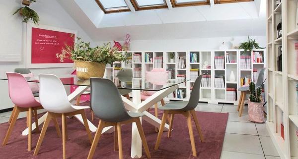 La oficina feliz de la revista Cosmopolitan