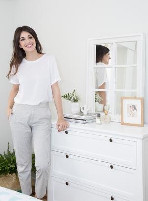 El dormitorio de Noelia López